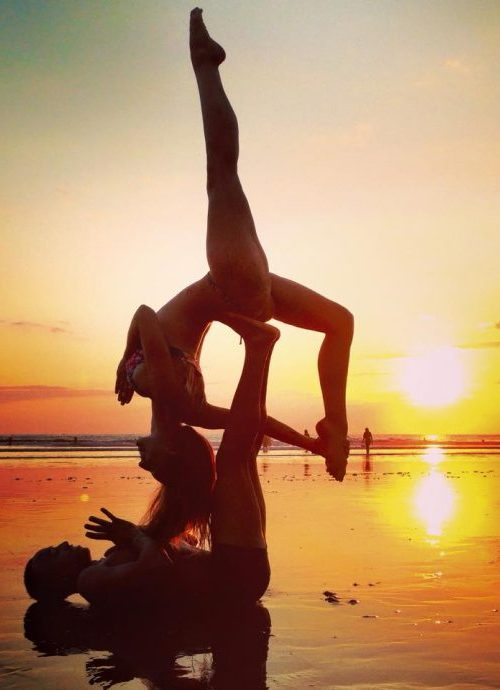 acro yoga at envision festival