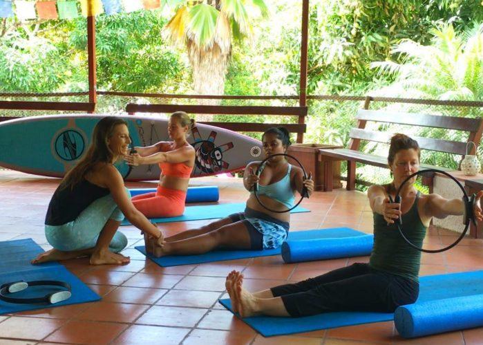 Amber Pilates Lesson