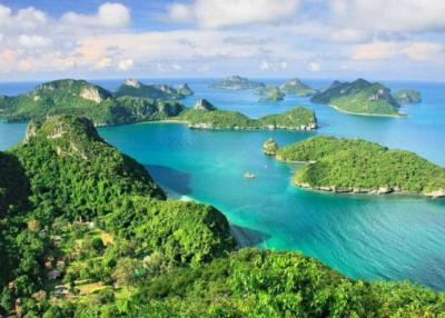 An Image of Koh Phangan Island